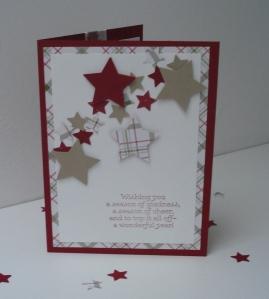 Sternkarte mit Liebe