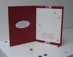 Sternkarte mit Liebe Innen