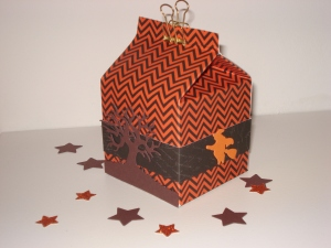 Halloween Box mit Hexe