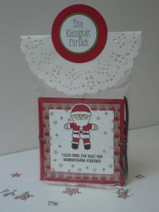 Weihnachtsmann Ausgestochen Weihnachtlich